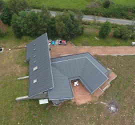 Sky House, Cushnie, Alford. Completed 2015