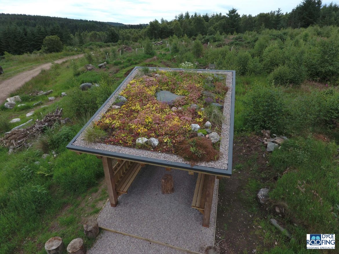 Peterculter community garden roof