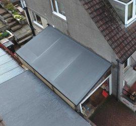 Peterculter community garden roof